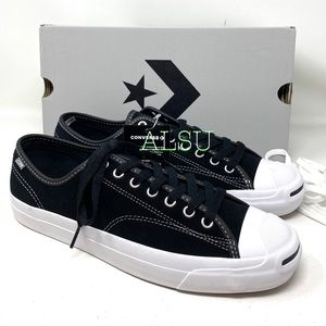 Converse Jack Purcell Pro Suede Black Men Sneakers